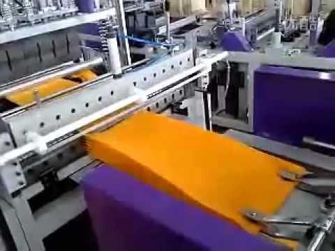 Máy sản xuất túi PP dệt tự động.