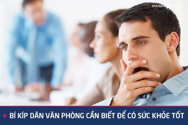 4 Bí Kíp Dân Văn Phòng Cần Biết Để Có Sức Khỏe Tốt
